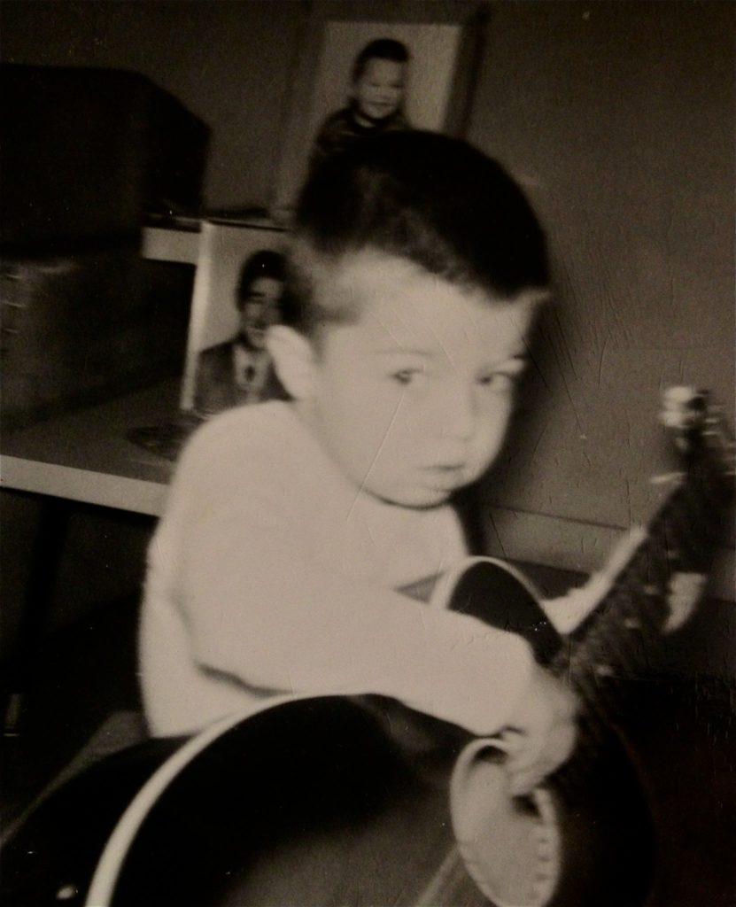 me on guitar