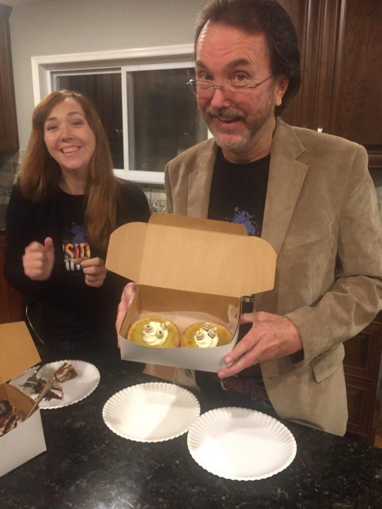 sherwin and cupcake