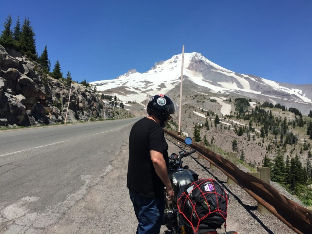 me standing by bike at mt. hood